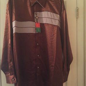 Zeone Designed in Italy SHIRT AND PANTS SET Men's